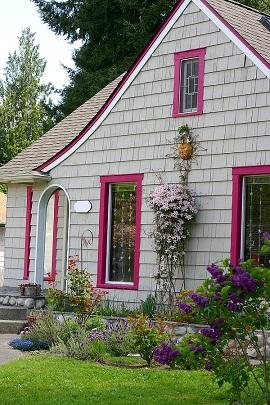 Curb appeal - Cottage paint colors exterior set ...